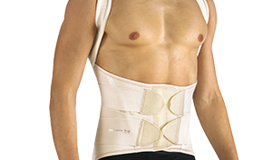 DORSAL-LUMBAR-SACRAL CORSET WITH SHOULDER STRAP #555
