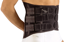 LUMBOSACRAL BRACE WITH THERMOFORMABLE PANEL (h 32cm) #574